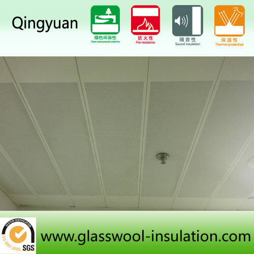 Sound-Absorbing Board for Office Ceiling Building Material