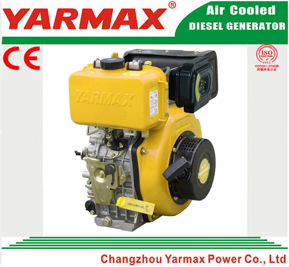 Yarmax Hand Start Air Cooled 4 Stroke Single Cylinder Marine Diesel Engine Ym186f