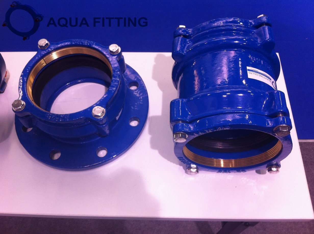 Restrained Adaptor Flange for PE PVC Di Pipe