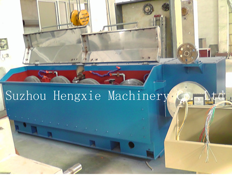 Intermediate Speed Aluminum Rod Breakdown Machine (HXE-400/9DA)