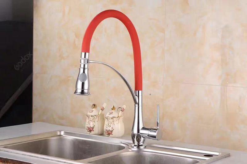 New Black Design Antique Kitchen Faucet (GS-36067