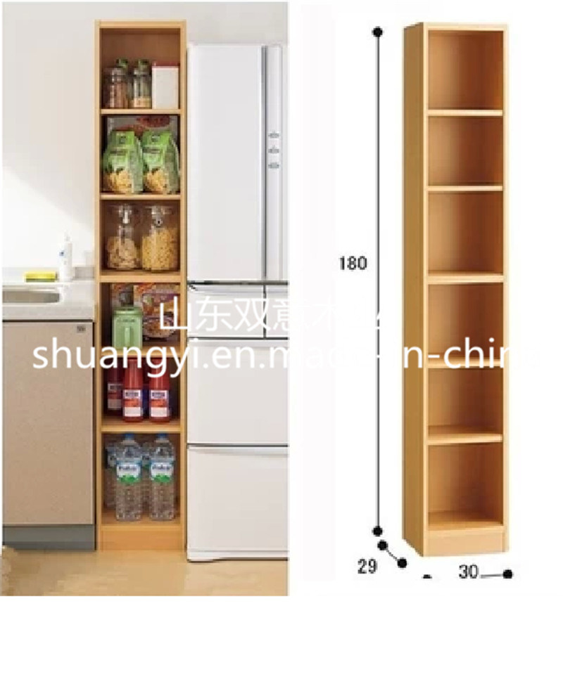 Modern Design Panel Furniture Bookshelf Cabinet for Storage