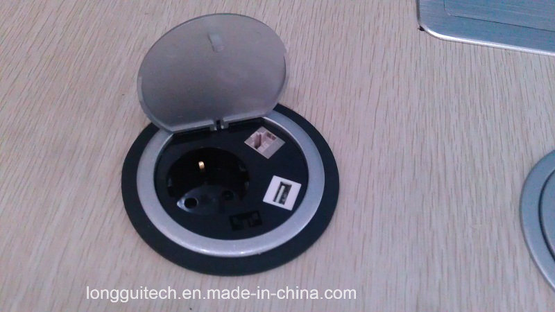 Round Electrical Socket Lgt-90