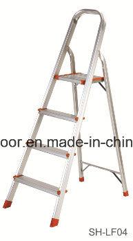 Aluminum Step Ladder Soft Closing Telescopic Ladder (EL-001A)
