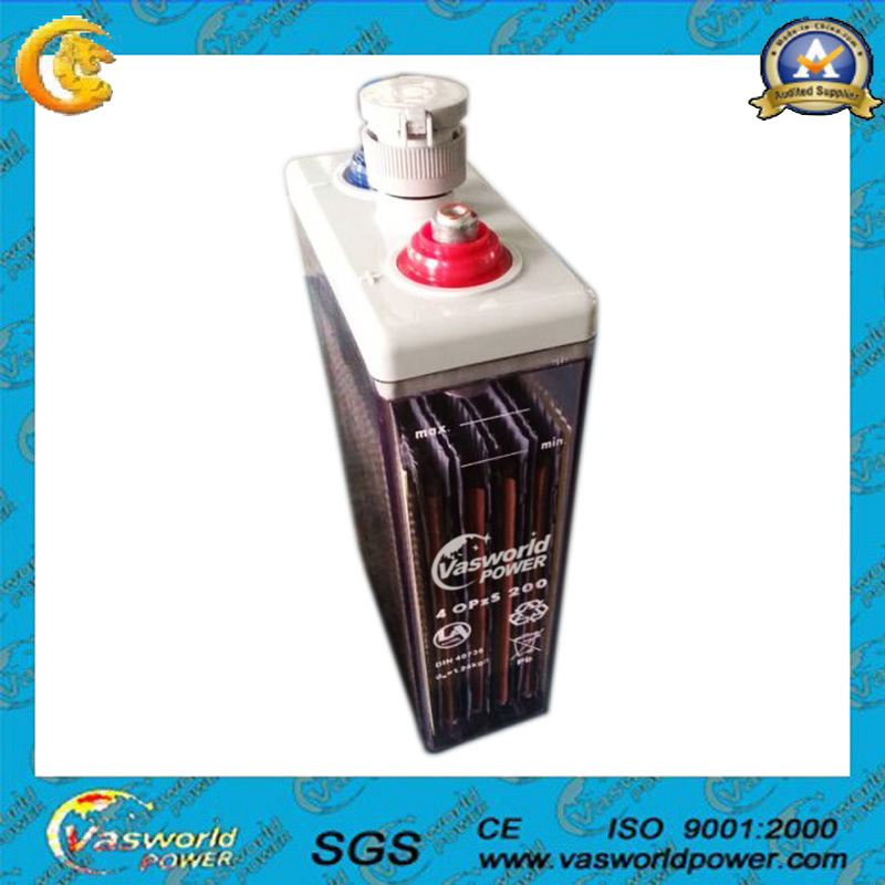 Battery 100AMP Opzs Type 2V100ah Made in China