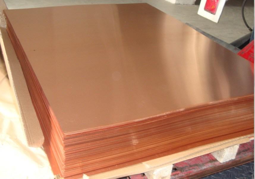 High Purity 99.9% Copper Sheet (C11000 C10100 C10200 C1100)