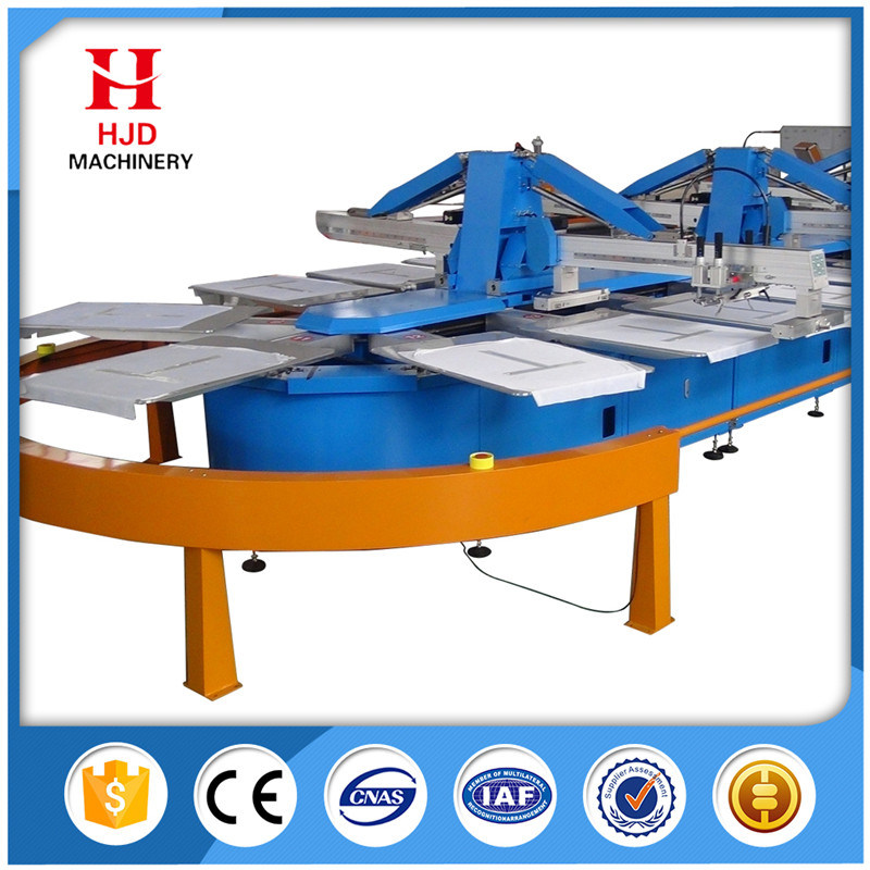Automatic Oval Silk Screen Printing Machine