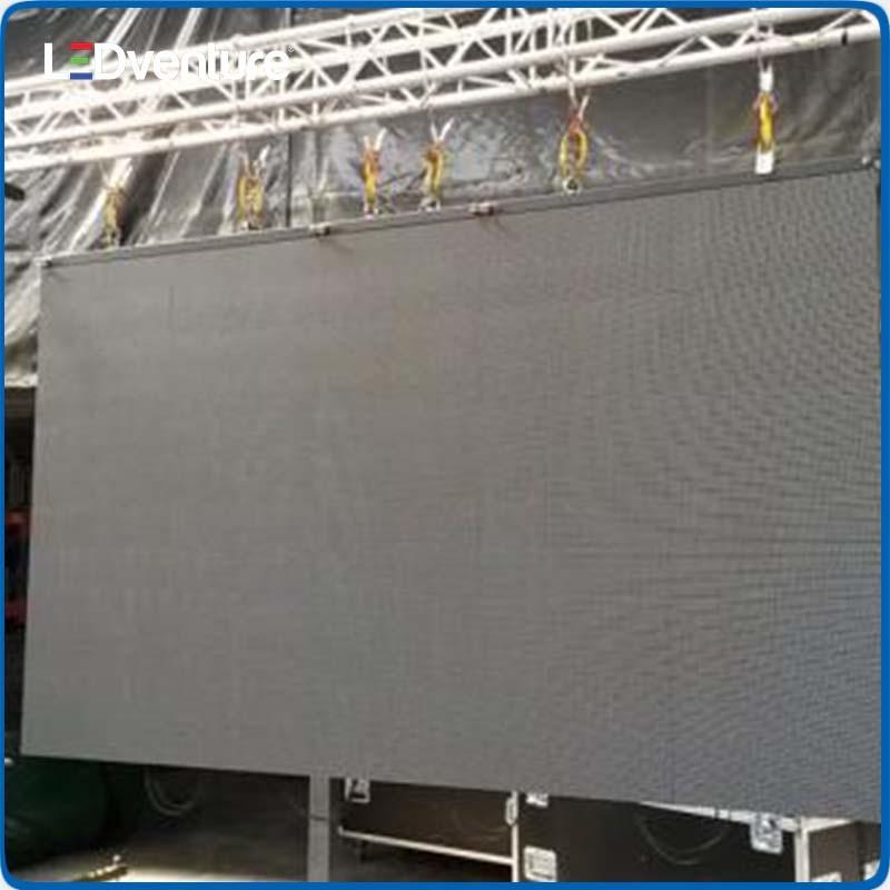 Outdoor Full Color Festival Rental LED Video Screen
