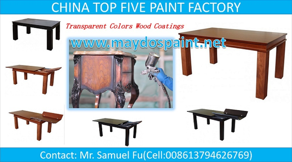 China Top 5 Paint Factory-Maydos Polyurethane Wooden Furniture Lacquer
