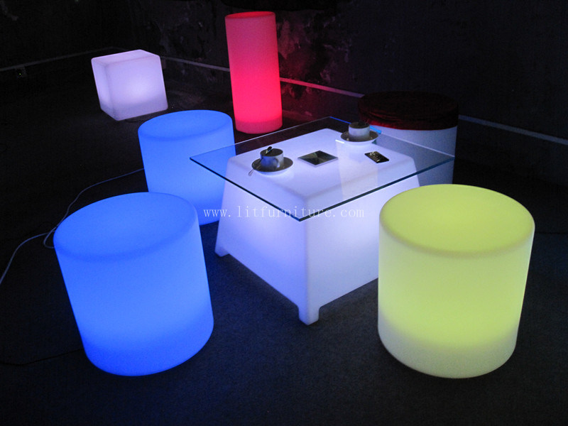 바 커피용 탁자 LED Table/LED 가구 – 바 커피용 탁자 LED Table/LED ...