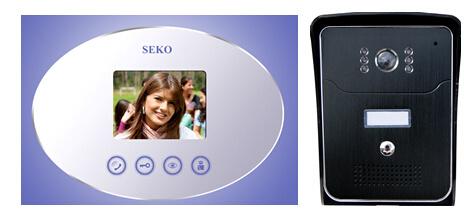 3.5 Inch Hands Free Color Video Door Phone