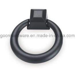 Zinc Black Painted Furniture Cabinet Kitchen Ring Handles
