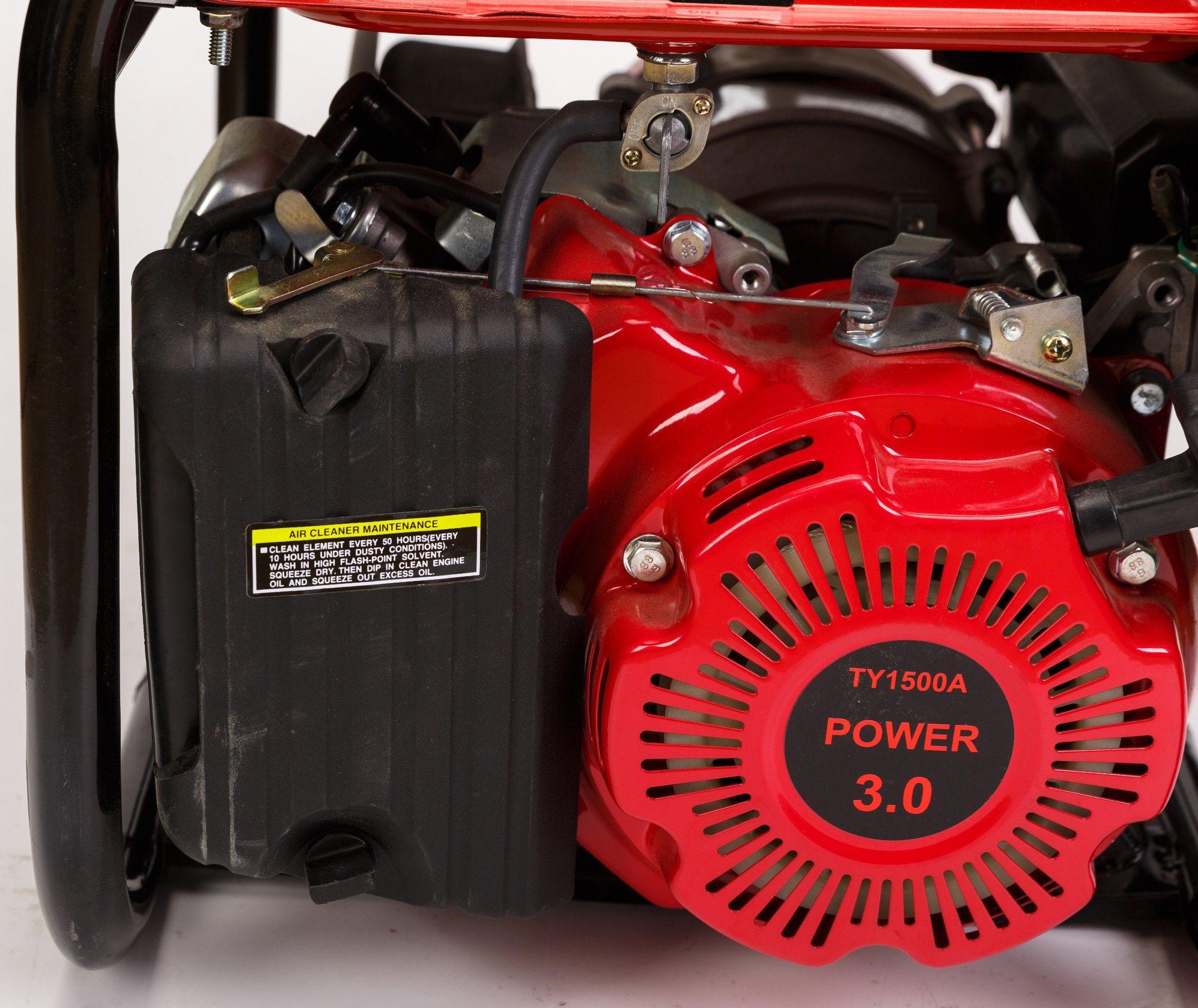 1kw Aluminium Wire Recoil Start Portable Small Silent Gasoline Generator