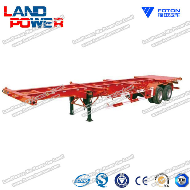 Skeleton Semi Trailer Container Semitrailer