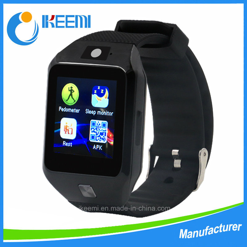 Dz09s Smart Watch with SIM Card Clock Sync Notifier Bluetooth Connectivity Apple Andriod Smartphones