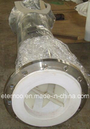 PTFE Lining Static/Pipe/Tube Mixer for Chemical Dosing in Water Treatment System