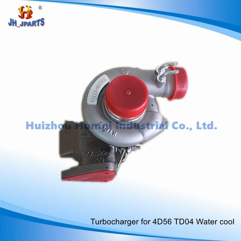 Turbocharger for Mitsubishi 4D56 Td04 Water Cooled 49177-01512