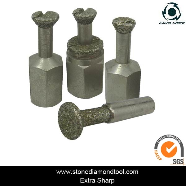 Diamond Electroplated Anchor Bit for Granite/Marble
