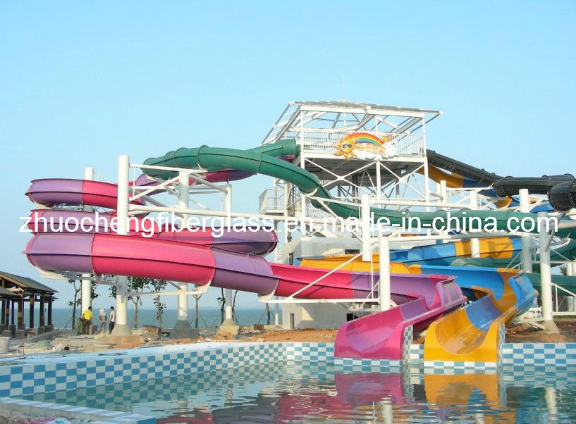 Fiberglass Water Park Equipment
