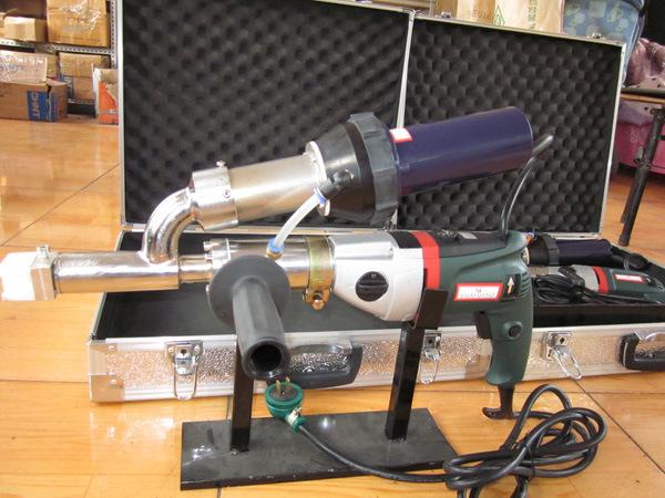 PVC Polyethylene PE Welding Gun