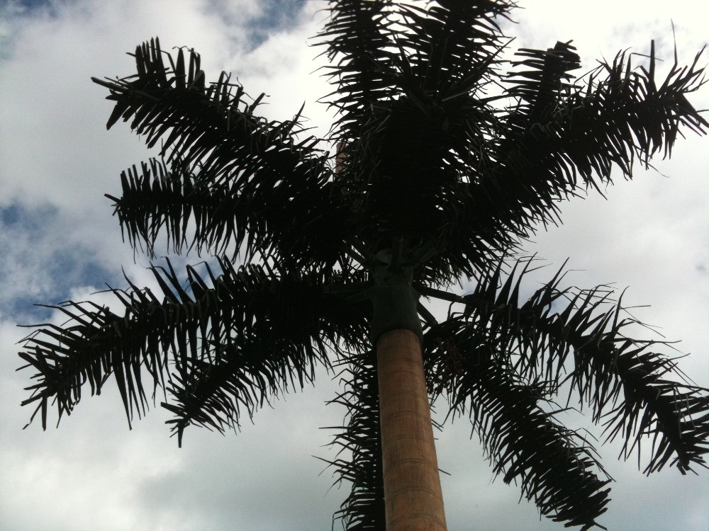 Camouflage Coconut Tree Tower