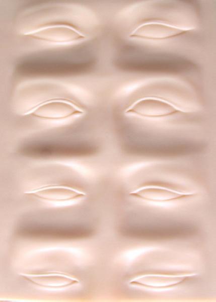Permasnent Mdakeup Ccosmetics 3D Eyebrccow Tatdtoo Practice Skin