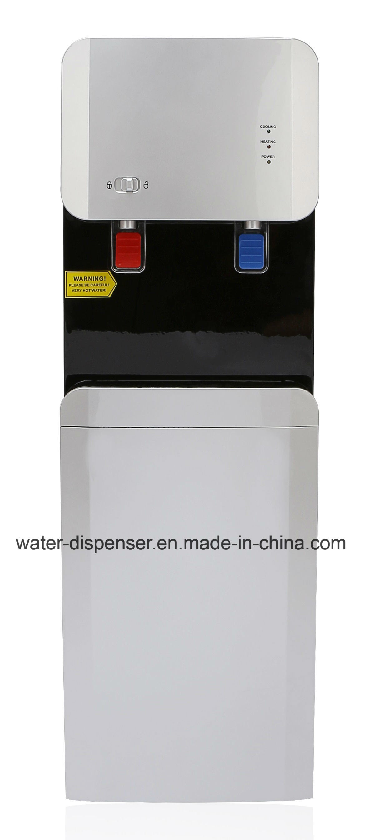 New Popular Pipeline Water Cooler Compressor Cooling 105L-G