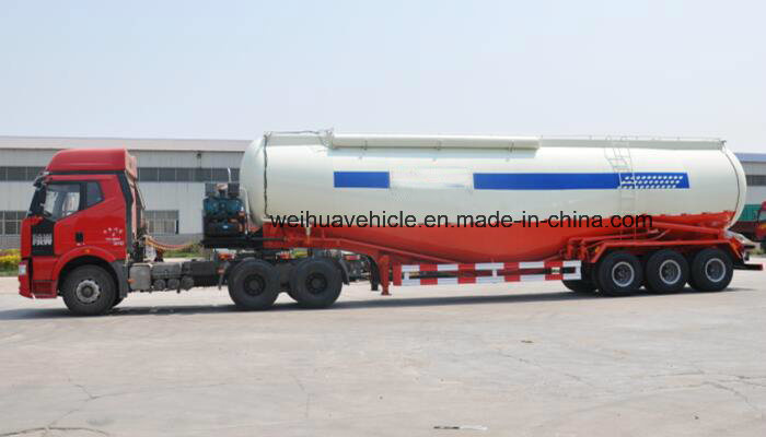 60cbm Bulk Cement Tanker Trailer with Nice Appearance