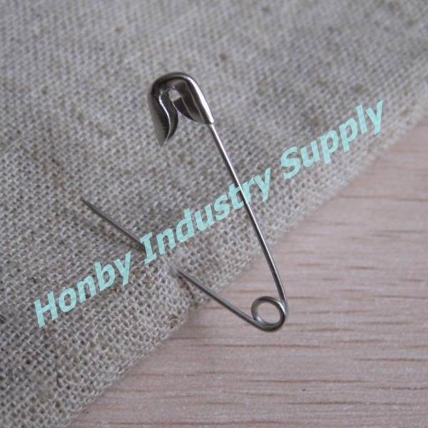 Nickel-Free Tough 28mm Safety Pins for Sports/Race/ Marathon