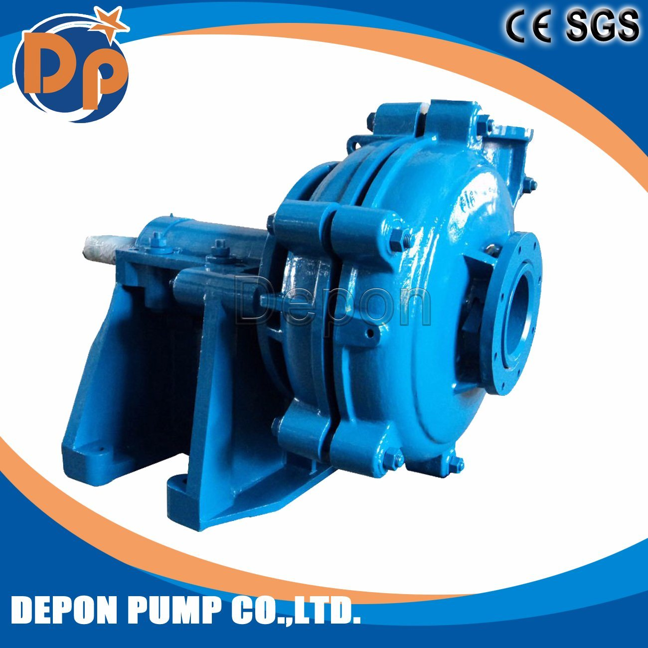 6 Inch Slurry Pump for Wet Sand Suction Pump