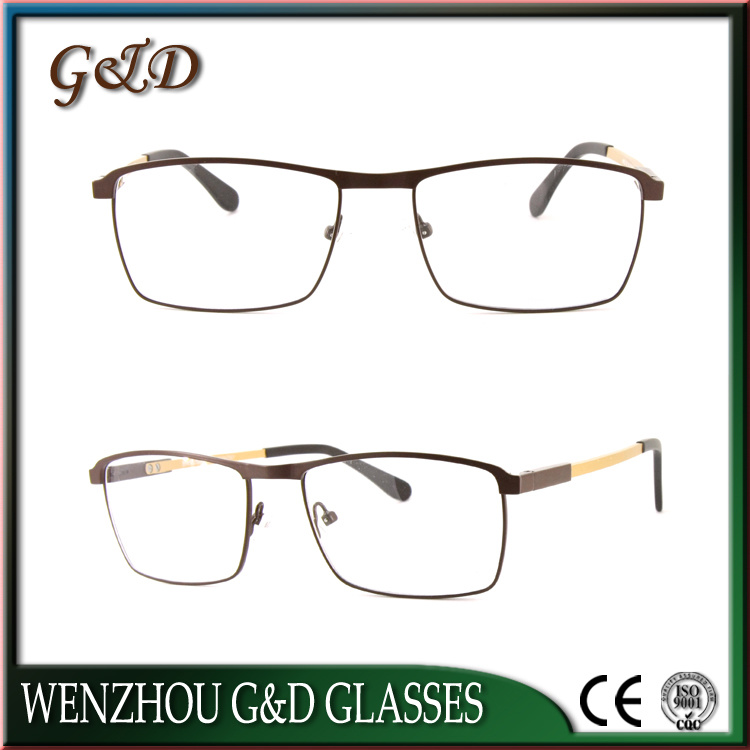 Popular Design Metal Eyeglass Eyewear Optical Frame 52-076