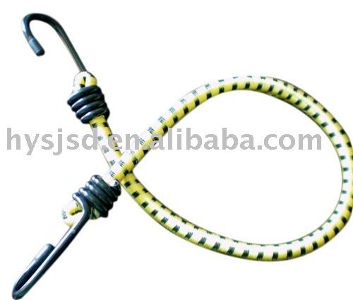 Factory Elastic Bungee Luggage Rope with Two Metal Hook