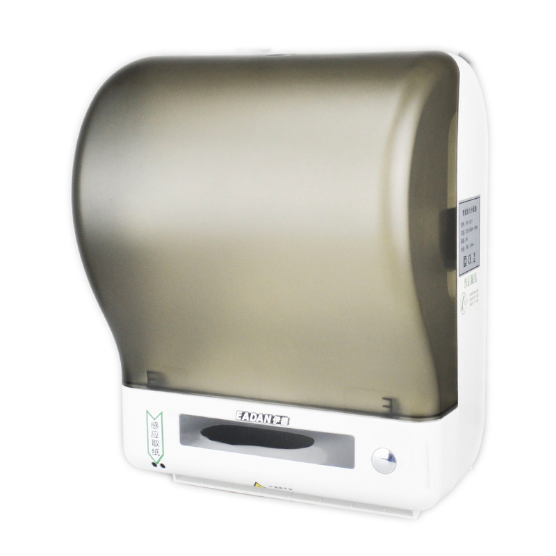 China auto cut hand towel roll paper dispenser china for Automatic paper towel