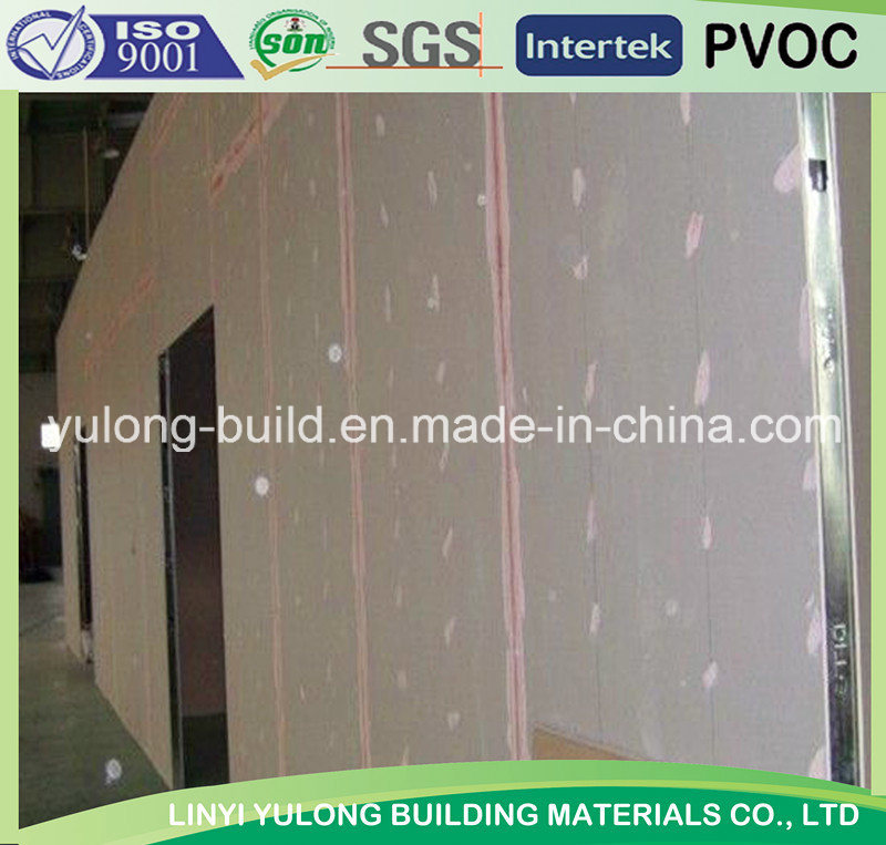 Gypsum Board/Plaster Board /Drywall Board for Wall Partition