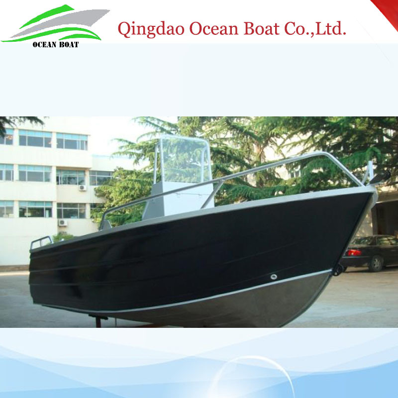 Hot Sale 4.6m Aluminum Fishing Boats with Center Console