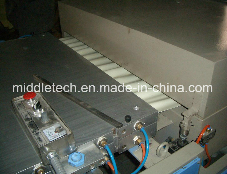 Plastic PVC Wave/Glazed Roofing Tile Roller Forming Machine