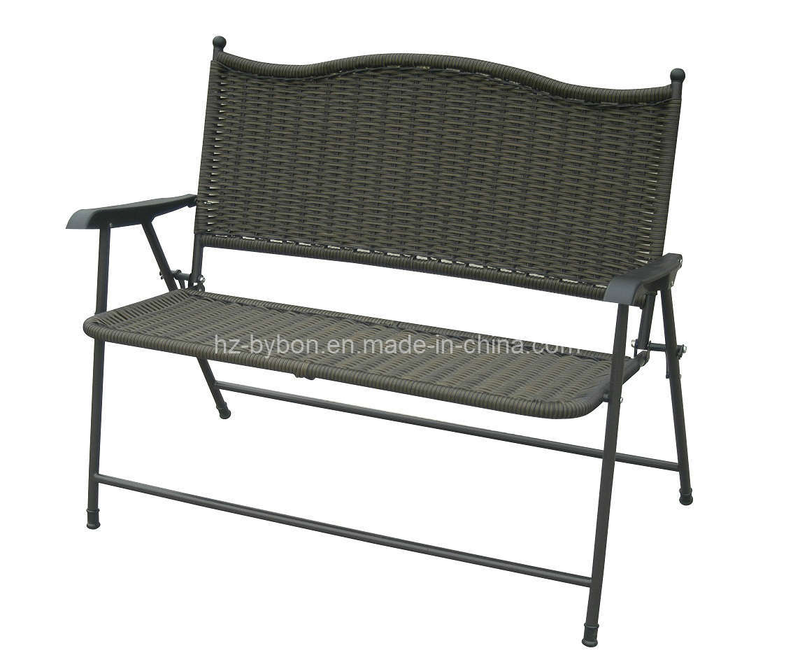 China Patio Folding Wicker Bench C 031 China Folding Bench Wicker Bench