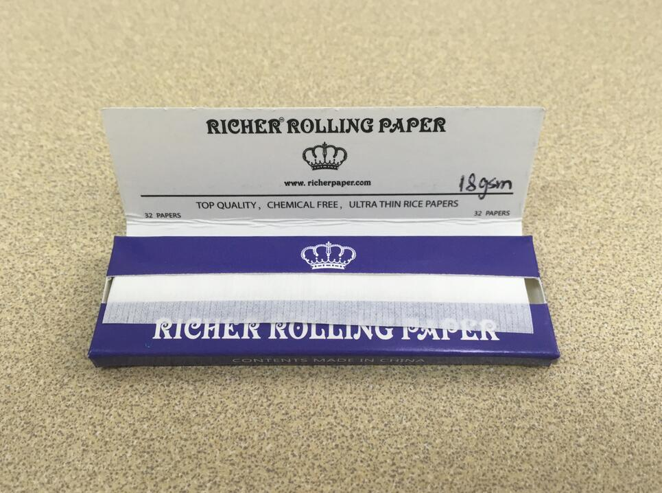 1-1/4 Size Customized Cigarette / Smoking Paper
