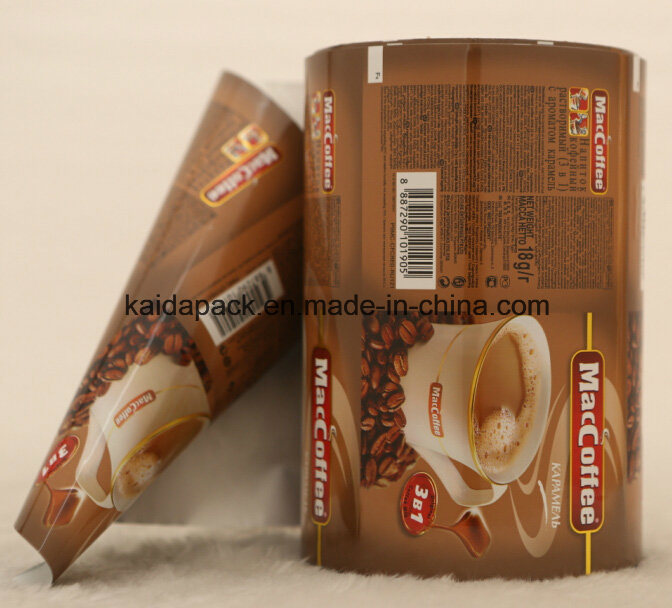 Aluminum Plastic Stand up Coffee Food Packaging Gusset Bag