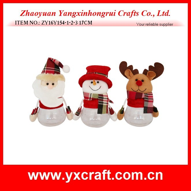 Stuffed Toy Christmas Decoration - Santa Claus - Snowman - Reindeer
