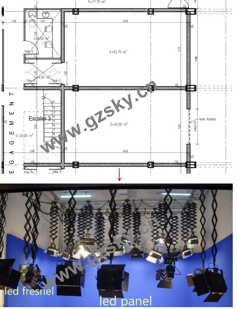 Event Management of Studio Lighting Design
