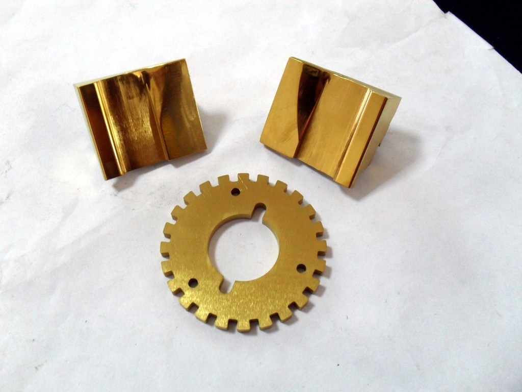 Coppery Sheet Metal Products for Stamping Parts for Customized