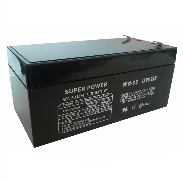 Lead Acid Battery 12V 3.2ah with CE UL ISO9001 ISO14001
