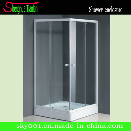 Square Prefabricated Simple Shower Bathroom (TL-534)