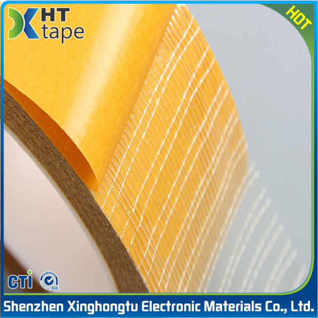 Super Sticky Hot Melt Adhesive Double Sided Mesh Tape