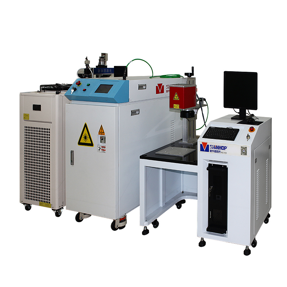 Automatic Metal Battery Mould Diode Laser Spot Welding Machine