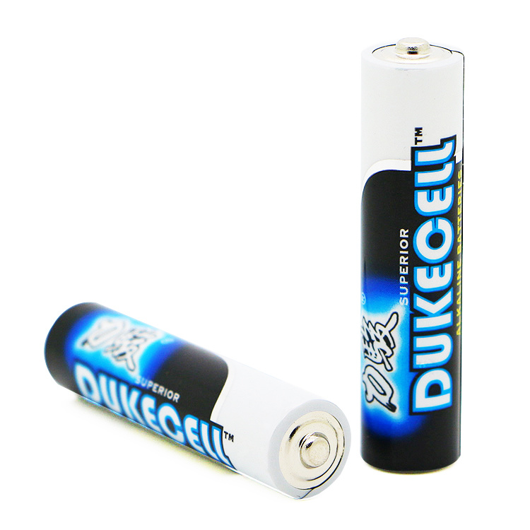 Alkaline Manganese Dry Cell AAA Batteries