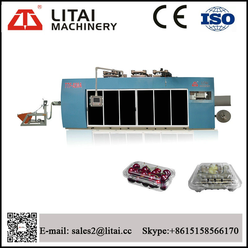 Servo Motor Control Biscuit Box Egg Tray Container Machine
