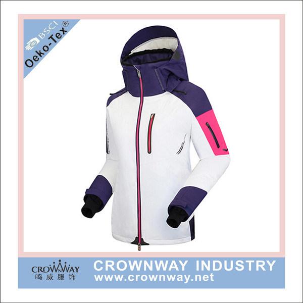 Fashion Design Women Winter Outdoor Wear Ski Jacket