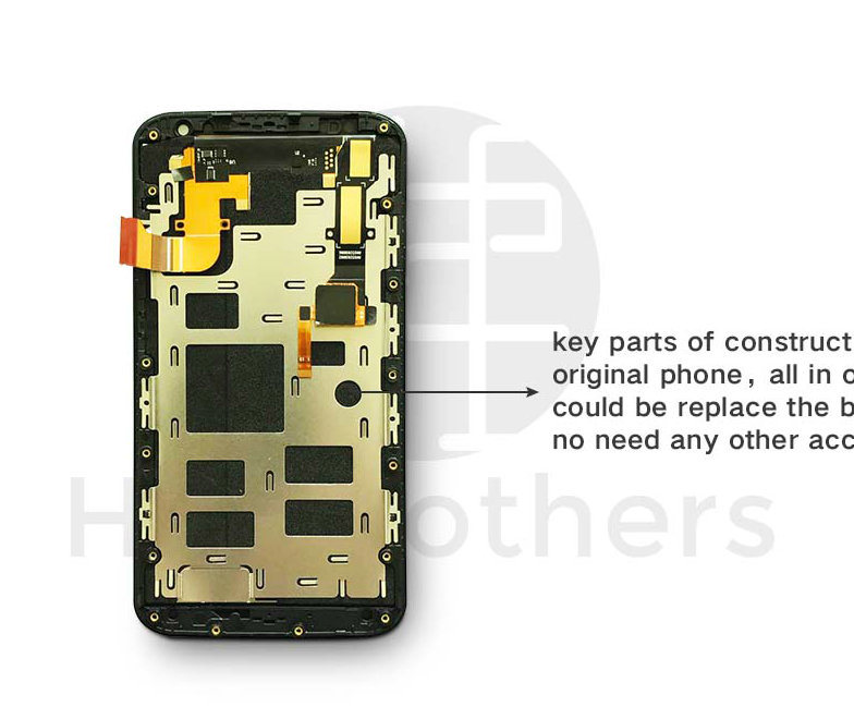 Wholesale Mobile Phone LCD Touch Screen for Motorola X2 Mobile Phone accessory
